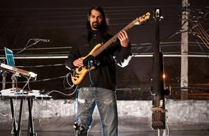 Izzi Ramkissoon performing