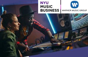NYU Music Business Warner Music Group