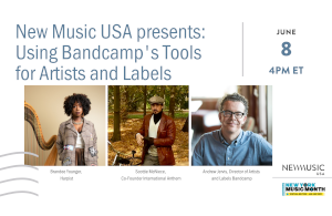 music usa presents using bandcamps tools for artists and labels